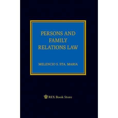 Persons and Family Relations Law 2019 Edition [Clothbound]