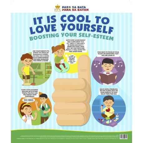 It is cool to love yourself: boosting your self-esteem (Poster)