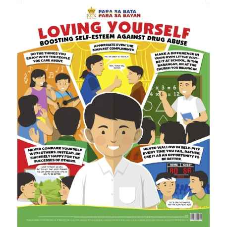 Loving yourself: boosting self-esteem against drug abuse (Poster)