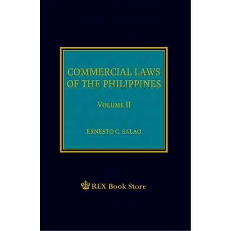 Commercial Laws of the Philippines Volume