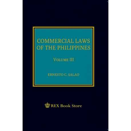 Commercial Law Volume III PS (2019 Edition)