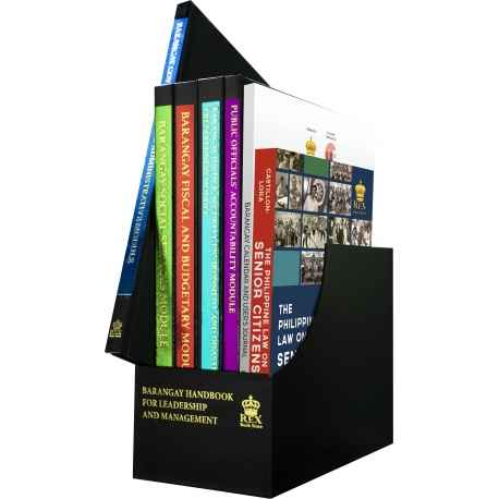 Barangay Handbook for Leadership and Management (1 set)