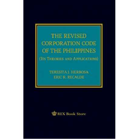 The Revised Corporation Code of the Phils 2019 Edition (Cloth Bound)