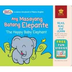 Ang Masayang Batang Elephante The Happy Baby Elephant (Small Book)