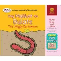 Ang Malikot na Bulate The Wiggly Earthworm (Small Book)