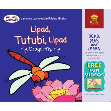 Lipad, Tutubi, Lipad Fly, Dragonply, Fly (Small Book)