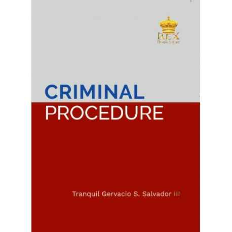 Criminal Procedure 2019 Edition (Cloth Bound)