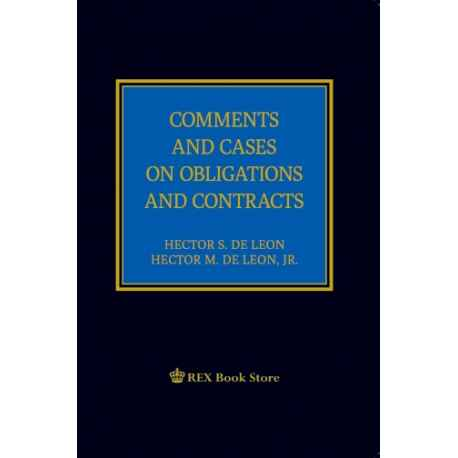 Comments and Cases Obligation and Contracts [Clothbound]