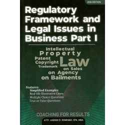 Regulatory Framework & Legal Business 1 (2019 Edition) Paper Bound