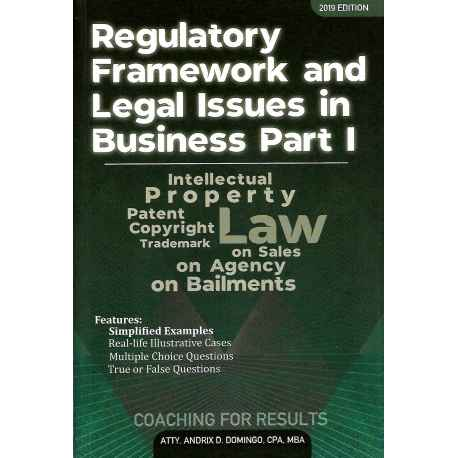 Regulatory Framework & Legal Business 1 (2019 Edition) Paper Bound