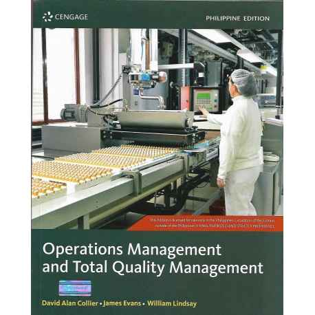 Operations Management & Total Quality Management (2019 Edition) Paper Bound