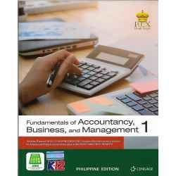 Fundamentals of Accountancy, Business and Management 1