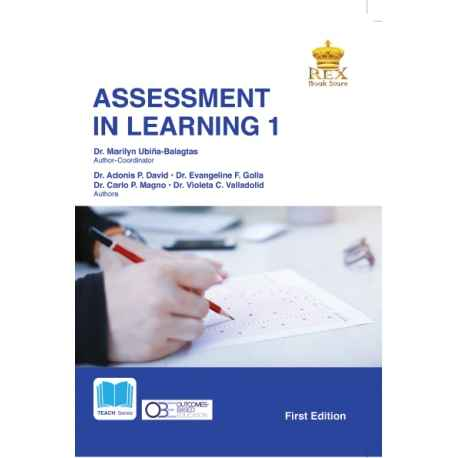 Assessment in Learning 1 (2020 Edition) Paper Bound