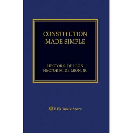 Constitution Made Simple (2019 Edition) Paper Bound