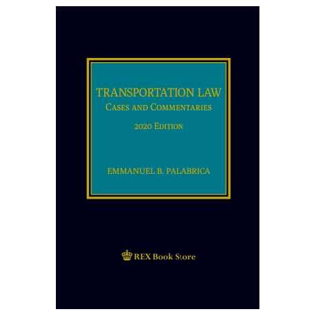 Transportation Law (2020 Edition) Cloth Bound