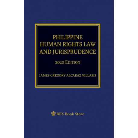 Philippine Human Rights Law and Jurisprudence (2020 Edition) Paper Bound