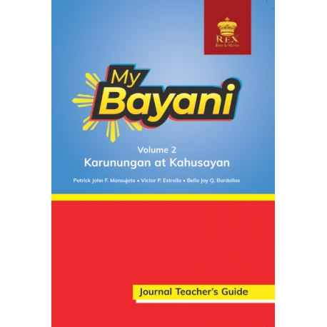 My Bayani Storybook Teacher's Guide Volume 1 (Karapatan at Dignidad)