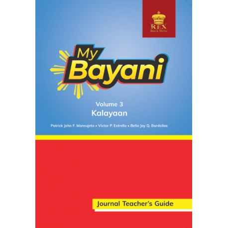 My Bayani Journal Teacher's Guide Volume 3 (Kalayaan)