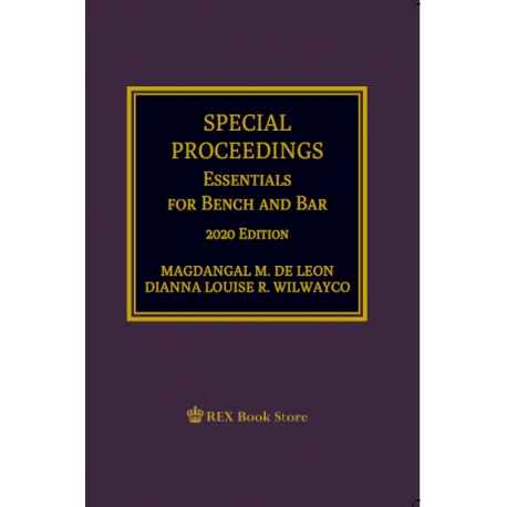 Special Proceedings (2020 Edition) Paper Bound