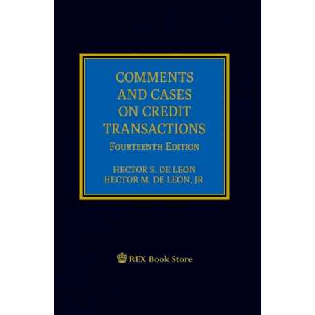 Comments and Cases on Credit Transactions [Clothbound]