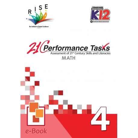 21C Performance Tasks Math 4 [ e-Book : PDF ]