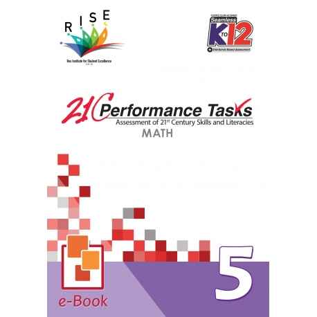 21C Performance Tasks Math 5 [ e-Book : ePub ]