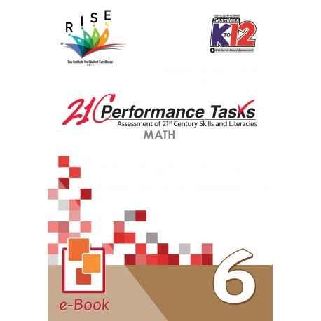 21C Performance Tasks Math 6 [ e-Book : ePub ]