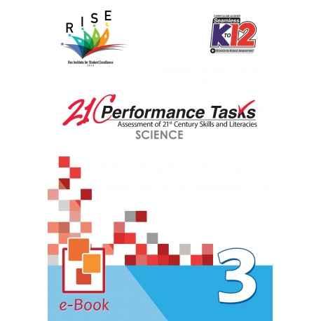 21C Performance Tasks Science 3 [ e-Book : ePub ]
