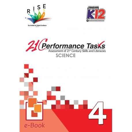21C Performance Tasks Science 4 [ e-Book : PDF ]