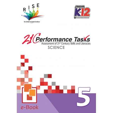 21C Performance Tasks Science 5 [ e-Book : ePub ]
