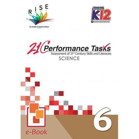 21C Performance Tasks Science 6 [ e-Book : ePub ]