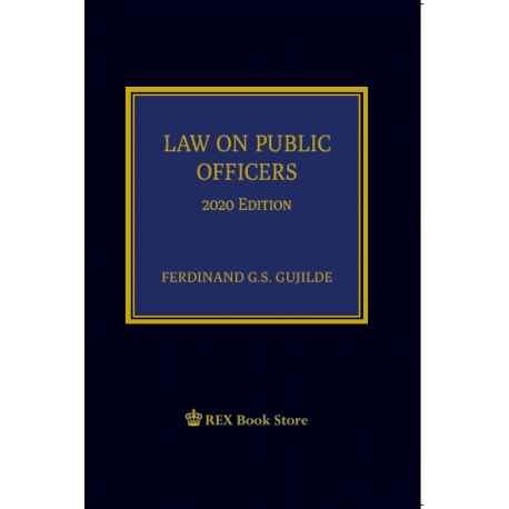 Law on Public Officers (2020 Edition) Cloth Bound