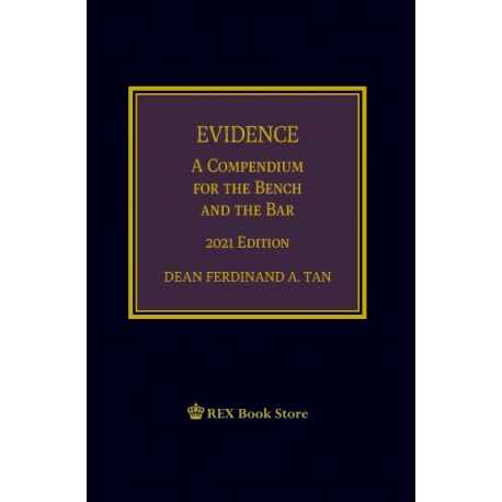 Evidence (2021 Edition) Cloth Bound