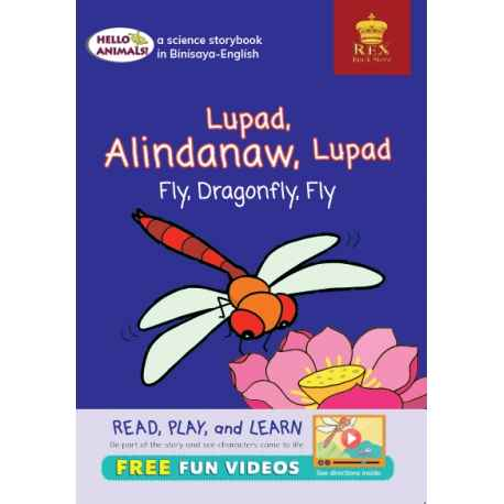 Hello Animals Lupad Alindanaw Lupad Fly, Dragonfly, Fly (Big Books)