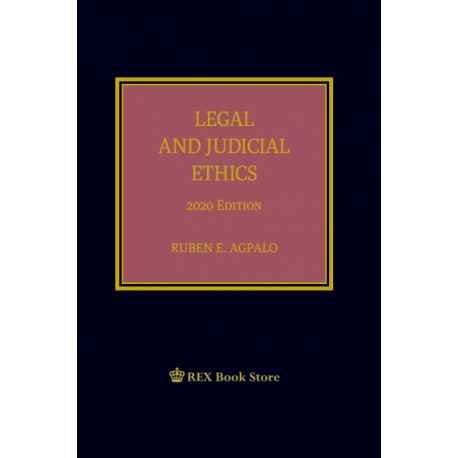 Legal and Judicial Ethics (2020 Edition) Cloth Bound