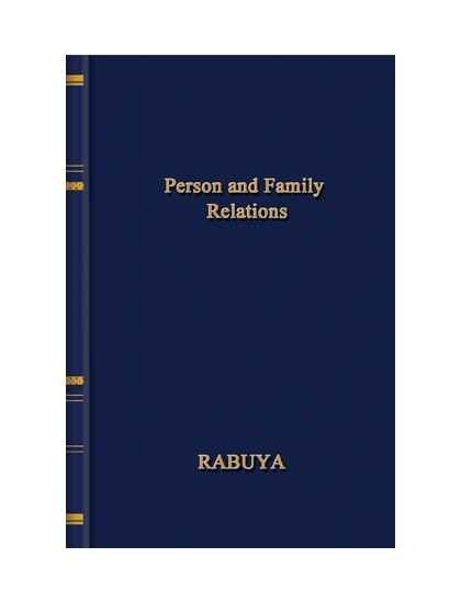 Persons and Family Relations