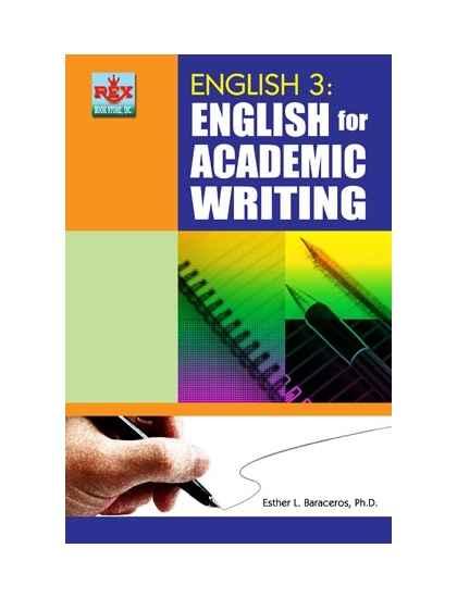 English academic writing