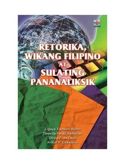 Retorika Wikang Filipino at Sulating Pananaliksik