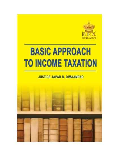 Basic Approach in Taxation
