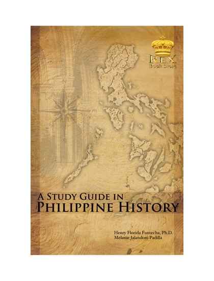 A Study Guide in Philippine History