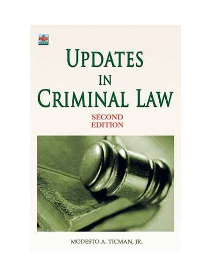 Updates in Criminal Law