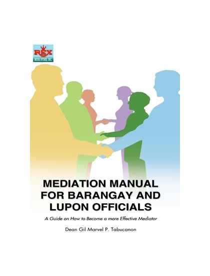 Mediation Manual for Barangay and Lupon Officials
