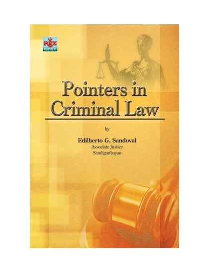 Law Book - Pointers in Criminal Law