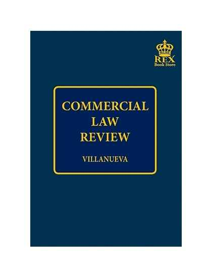 Law Book Commercial Law Reviewer