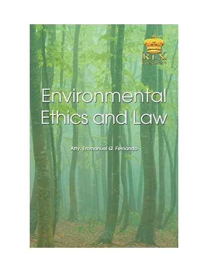 Environmental Ethics and Law