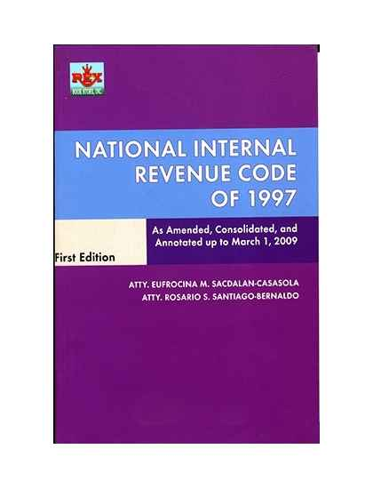 The National Internal Revenue Code of 1997