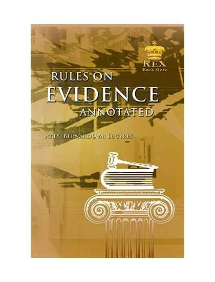 Revised Rules on Evidence