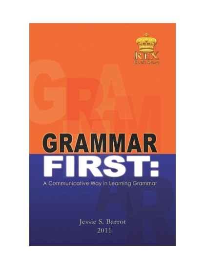 Grammar First (A communicative way of learning Grammar)