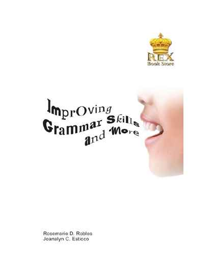 Improving Grammar Skills and More