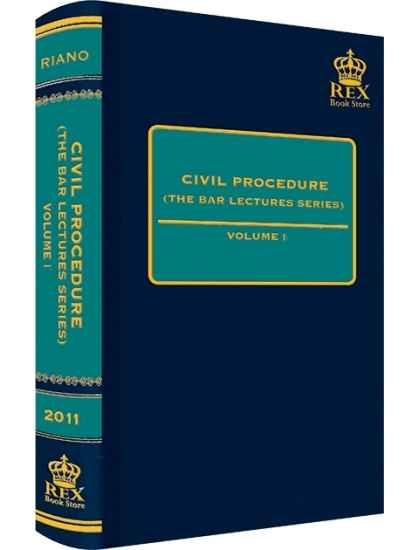 Civil Procedure Vol. I